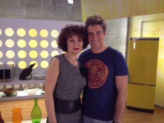 Margherita Acierno e lo chef Mattia Poggi